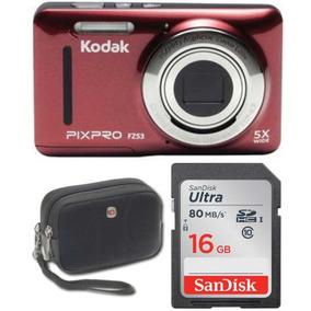 Cámara Digital Kodak Fz53 Apunta Y Dispara Con Lcd De 2,7-i