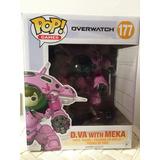 Funko Pop Dva Con Meka Overwatch Original Envios