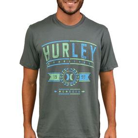 Camisetas Hurley Cinza - Calçados b83e5d1be5b