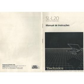 Manuais Pdf Conjunto Technics Sl-l20 Sa-290 Rs-t20 Sh-8028