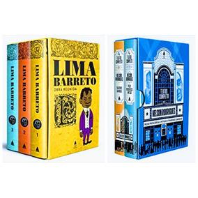 Box Lima Barreto Obra Reunida + Box Teatro Completo Capa Dur