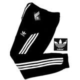 Pants adidas Negro Con Blanco Entubado Ligero Y Muy Comodo