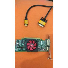 Praca De Vídeo Amd Ati Radeon Hd 7000 Séries Ddr3 1gb 64bits