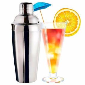 Coqueteleira Inox 750ml Reforçada P  Drinks Caipirinhas Bar 869d13b7556b9