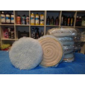 Pad Paño Cordero Lana Natural Premium Detailing 5 Pulgadas
