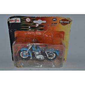Miniatura Moto 1952 K Model 1:18 Harley-davidson Maisto