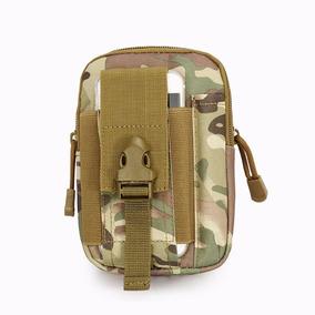 Bolsa Porta Treco Bornal Militar Camuflada Pochete D Cintura