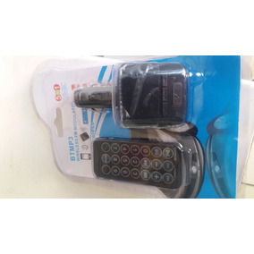 Transmissor Audio Btmp3 Wireles Fm Modulator 5em1 12 24volts