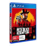 Izalo: Juego Red Dead Redemption 2 Ps4 Físico + Mp + Local