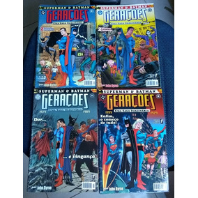 Superman & Batman Gerações 1 E 2 Completas