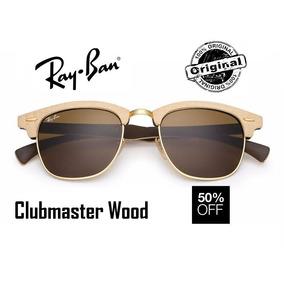 Oculos Rayban Feminino Original Clubmaster - Óculos De Sol Ray-Ban ... 538b0a656f