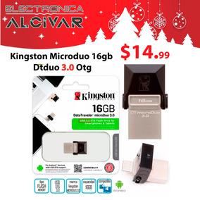 Kingston Microduo 16gb Dtduo Flash Memory Usb 3.0 Otg