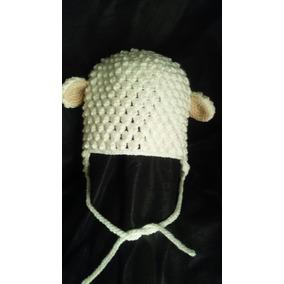 Gorro Bebe Crochet Ovejita - Ropa y Accesorios en Mercado Libre ... 7893a83a864