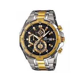 e1a825adbc1 Relógio Casio Masculino Edifice Ef 539 Fundo Azul S Cx - Relógios De ...