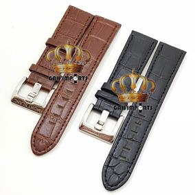 c79526a6327 Pulseira De Couro Montblanc 22mm - Joias e Relógios no Mercado Livre ...