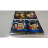 Superman 1 2 3 4 (chrispher Reeve) Dvd-c/ Luva- Lacrado-raro