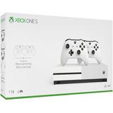 Consola Xbox One S De 1t + 2 Controles. Garantia De 1 Año