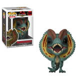 Funko Pop! Movies #550 Dilophosaurus Jurassic Park Nortoys