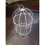 Paquete Con 12 Jaulas 14x23cm Alta Cálidad Decorativas Metal