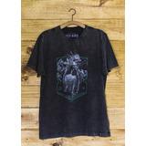 T-shirt Yes Bird Masculina Harpia - Grafite Estonado