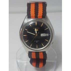 ad35934531a Relógio Classic Automatico Antigo (parado) Canaldorelogio 81. Usado -  Espírito Santo · Seiko 5 Automatico Anos70 Funcionando Classico Pulseira  Nato