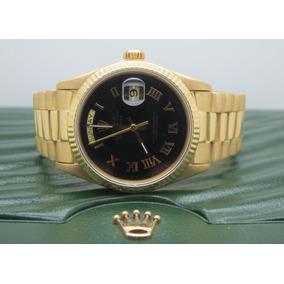 c2efac51da1 Rolex Presidente- Ouro 18k De Luxo Pulso - Relógio Masculino no ...