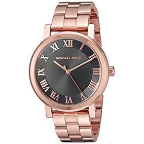 b90eb7dc57164 Relógio Michael Kors Feminino Preto Com Rose - Relógios De Pulso no ...