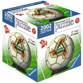 2 Pack Balón 3d Corea Japón 2002 Y Brasil 2014 Ravensburger a757b4373bc1e
