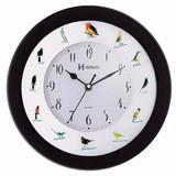6370 Relógio Parede Canto De Pássaros Brasileiros Herweg