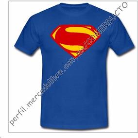 Playera Superman Justice League Playera Liga De La Jus Afji