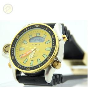 cb80103c9d3 Relogio Aqualand Serie Ouro Esportivo Masculino - Relógio Masculino ...