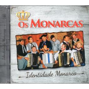 Cd Os Monarcas Identidade Monarca Original Lacrado