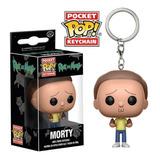 Llaveros Figuras Funko Pocket Pop Keychain Morty