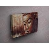 Buda Vintage Cuadro En Canvas