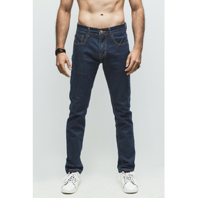 Jeans Synergy Distressed Azul Oscuro H403g - V68