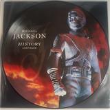 Michael Jackson Lp Picture Disc Duplo History Continues Novo