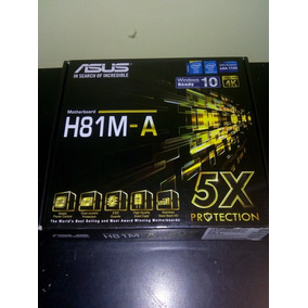 Combo Tarjeta H81 + I3 4ta Gen + Memoria 4gb