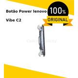 Botão Power Liga Desliga Lenovo Vibe C2 K10a40