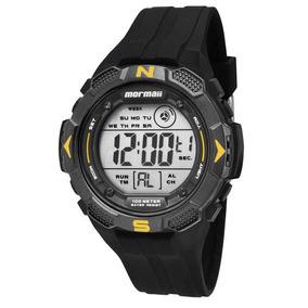 Relógio Mormaii Masculino Mo2908/8y Preto Barato + Nota