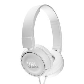 Headphone Jbl Com Fio T450 Branco Com Garantia E Nota Fiscal