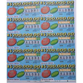 Bilhete Da Loteria Federal De 2002 : A Cada 5 Um É Premiado