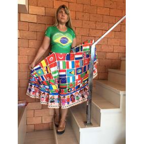 Vestido Ministério Infantil Missões Brasil