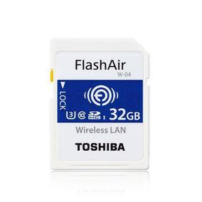 Toshiba Cartão Sdhc 32gb Flashair W-04 4k Cartao Memoria