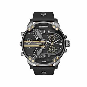 Reloj Diesel Original Caballero Dz7348 Mr. Daddy 2.0 Negro