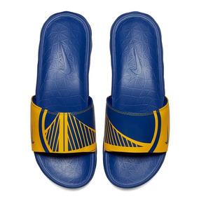 Ojotas Nike Benassi Solarsoft Nba Golden State Warriors 2019