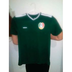 Camisa Jersey Mexico Para Niño Talla Ch