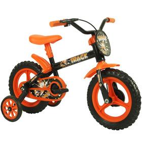 Bicicleta Infantil Track Bikes Arco Iris Aro 12 - Semi Nova