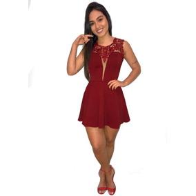 81b97f9819 Vestido Rodado Lindo - Vestidos Curtos Femininas no Mercado Livre Brasil