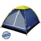 Barraca Acampamento Camping E Lazer Mor 4 Lugares Azul