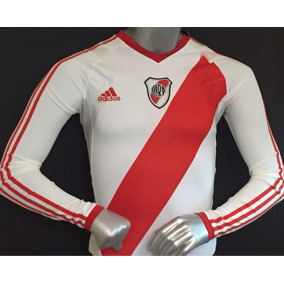 Techfit River Plate Jersey adidas Argentina Manga Larga 39965cd9692be
